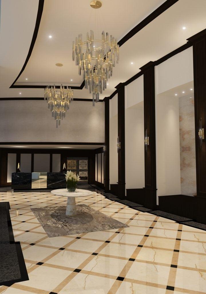 1-Lobby-Reception- Reception Desk