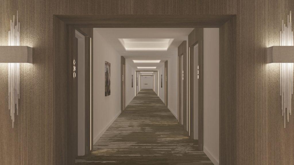 7-Typicall Hallway 1 Option 2