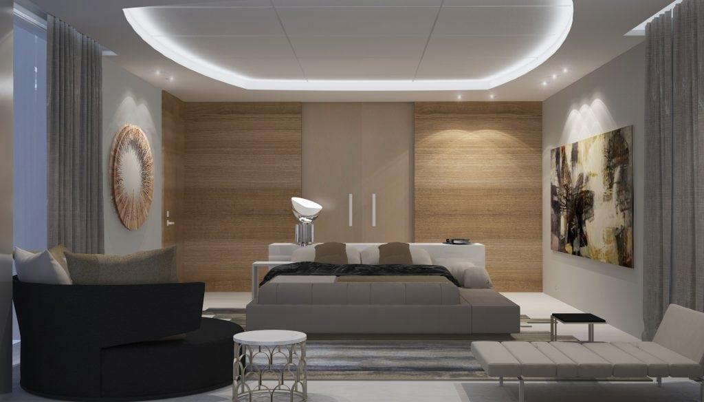 9-Spiegel- master bedroom 2nd floor-bed view