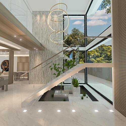 2 Foyer window